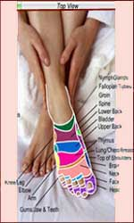 Free foot reflexology.